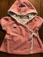 Janie and Jack Baby Whale Dress Girls Terry Hooded Swim Cover Up Sz 12-18 Months