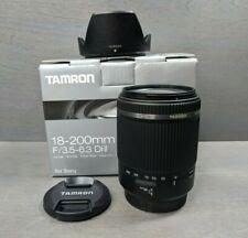 Tamron AF 18-200mm F/3.5-6.3 DI II VC B018S for Sony A-Mount Lens