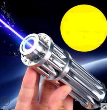 Hot! High Power 5000000M Blue Laser Pointers 450Nm Lazer Flashlight Burning Matc