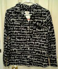 Kate Spade Dream A Little Dream Pajama Shirt Top Button Down Womans XS NWT