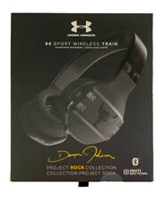 New Sealed UA Under Armour Sport Wireless Train Project Rock by JBL - Black