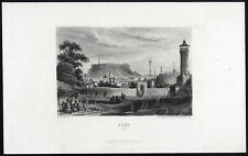 Antique Print-ALEPPO-SYRIA-VIEW-Aubert-1860