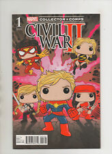 Civil War II #1 - Marvel Collector Corp Funko Pop Variant - (Grade 9.2) 2016