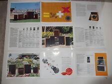 Altec Lansing 1978 Brochure, 19, 15, A7x, 18, 511b, 802-8g, 9 II, 7  Specs, Info