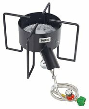 Bayou Classic KAB6 Outdoor Cooker with Hose Guard Designed for Large Pots New
