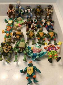Lot Vtg 1988-93 Teenage Mutant Ninja Turtles TMNT Mirage Playmate Action Figures