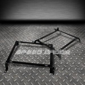 2 X TENSILE RACING SEATS MOUNT BRACKETS/BRACKET RAIL FITS 240SX S13 S14 SILVIA