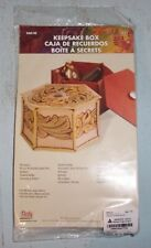 Nip w/ Instructions Tandy Leather Keepsake Box Kit
