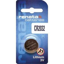 Renata Mercury Free 3V Lithium Coin Button Cell Battery CR 1620