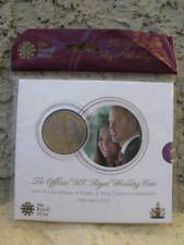 ROYAL MINT**WILLIAM AND KATE ROYAL WEDDING  £5 Five POUND COIN**SEALED