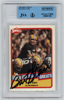 PACKERS Bart Starr signed card 1989 Swell #101 AUTO PSA/DNA Slab Autographed HOF