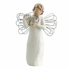 Willow Tree Just For You Angel Figurine Handpainted Resin Sincere Thanks Nib