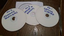 3 x sublimazione pressa di calore/trasferimento DVD Training GUIDE TAZZE banner e più