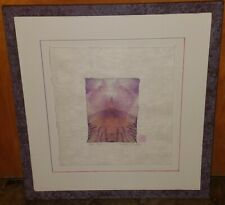 Sigrid Vollerthun Original Abstract Photography Iris Chalice On Japanese Paper