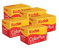 5 x  Kodak Colorplus 200 35mm 24Exp -  CHEAP Colour Print Film