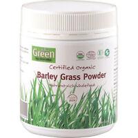 Absolute Green Certified Organic Barley Grass Powder 150g Wholefoods
