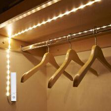 Activated Motion Sensor PIR LED Strip Light Battery Kitchen Cupboard Underbed