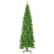 1250 Tips 7.5 FT Premium Hinged Slim Christmas Trees Narrow Fir Tree Pencil Tree