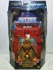 MOTU Masters of the Universe HE Man Commemorative 1 of 15.000 Mattel INC. MOSC