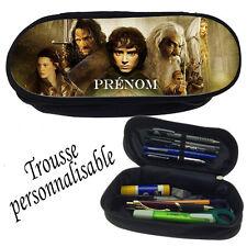 Trousse à crayons LE SEIGNEUR DES ANNEAUX personnalisée avec prénom