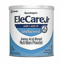 EleCare Jr Unflavored Powdered Formula 1 Case Free Shipping!