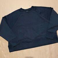 Women's Nike Dri-Fit Large Embossed Spellout Logo Sweatshirt Size XL