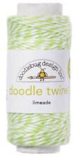 Doodlebug Design Doodle Twine Limeade Green 2900 new