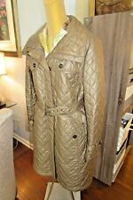 """MAX MARA ITALY Belted Trench """"Tobacco"""" Coat NWT Retail $585 +Orig. Reciept"""