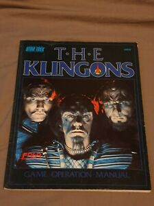 Star Trek RPG supplements FASA 2002A THE KLINGONS 1987