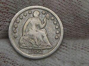 1852 Seated LIBERTY Half Dime.  #29