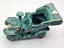 Vintage Metlox Poppytrail Pottery Allen Shaw Green Old Car Planter