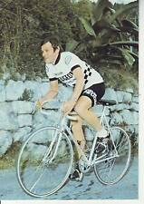 CYCLISME carte cycliste GERARD SIMONNOT équipe PEUGEOT ESSO MICHELIN 1978