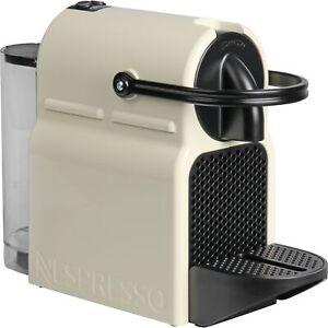 DeLonghi Nespresso Inissia EN 80.CW, Kapselmaschine, creme