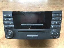 Original Mercedes W211 E Klasse Radio Audio 20 CD Radio A 211 870 12 89 MF2311