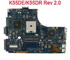 For Asus K55DR K55DE Motherboard Mainboard Rev 2.0 HD 6470M Non-integrated