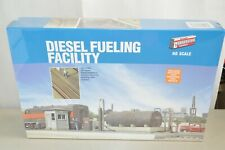 HO building structure KIT Walthers Diesel Locomotive Train Fueling Facility