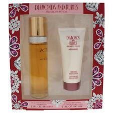 Elizabeth Taylor Diamonds and Rubies 3.3oz edt Spray, 3.3oz perfumed body lotion