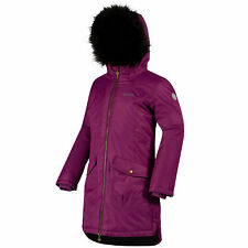 Regatta Girls Hollybank Parka 32 Winberry