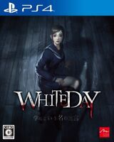 USED PS4 WHITEDAY Gakkou toiunano Meikyu JAPAN Sony PlayStation 4 WHITE DAY game