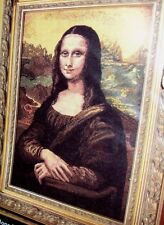 Plaid Bucilla Mona Lisa Da Vinci Counted Cross Stitch Kit 45184 Large Size!