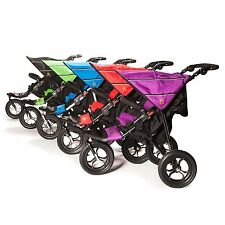 Out n About Nipper 360 V4 (Raven Black) All Terrain Buggy/includes Basket