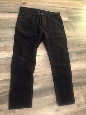 New listing LEVI'S 502 Distressed TAPER LEG REGULAR FIT  Denim 33 x 30 Blue jeans