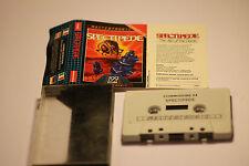 COMMODORE 64 (C64) spectipede 1985 Cassetta MASTERTRONIC gioco.