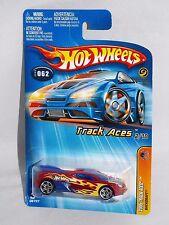 Hot Wheels 2005 Track Aces #62 Backdraft Burgundy w/ PR5s