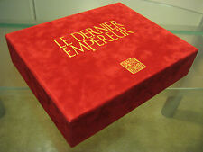 The Last Emperor FRENCH LE DVD Velvet Box 3Disc+192pg+FilmCut Book #20/6000 RARE