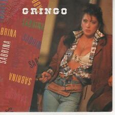 """Sabrina Salerno Gringo 45 Giri 7"""" PROMO"""
