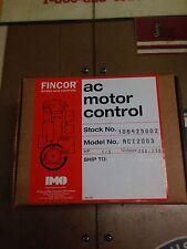 ACX2003 Fincor 1/3 HP AC Drive 230V 1.8 Amp Inverter NIB 106425002