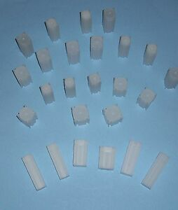 5 Numis Square Coin Tubes For US Nickel Stackable Safe Storage Durable Great Lid