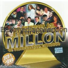 Lo Esencial Disco Millon 3 CD + 1 DVD NEW Sandro Leo Dan 76 Canciones SEALED!
