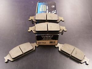 VGX MF752 New Front Brake Pads fits Chevy Classic Malibu Olds Alero Grand Am